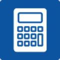 Icon mit Taschenrechner