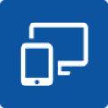 Icon mit Handy und Desktop